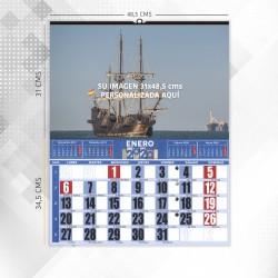 Almanaques de Pared Gigante Horizontal Mensual
